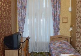 Вторая спальня в номере 3-комнатный ЛЮКС  в корпусе 1