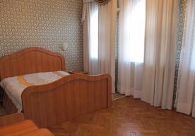 Спальня в номере 2-комнатный ПОЛУЛЮКС в корпусе 1