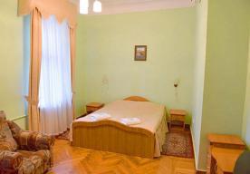 Спальня в номере 2-комнатный ПОЛУЛЮКС в корпусе 2