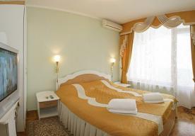 Спальня в номере 2-комнатный ПОЛУЛЮКС в корпусе 3