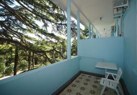 Балкон в номере СТАНДАРТ в корпусе 2