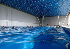 Крытый бассейн с подогреваемой морской водой