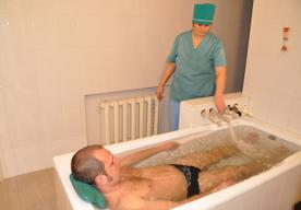 Бальнеологические процедуры: лечебные ванны