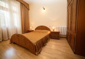 Спальня в номере 3-комнатный ЛЮКС в корпусе 1