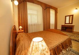 Спальня в номере 2-комнатный ЛЮКС в корпусе 1