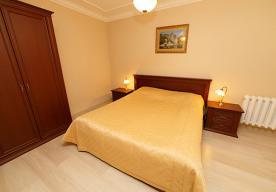 Спальня в номере 2-комнатный ЛЮКС в корпусе 10