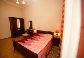 Спальня в номере 2-комнатный ЛЮКС в корпусе 3