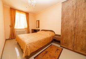 Спальня в номере 2-комнатный ЛЮКС в корпусе 8