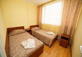 Спальня в номере 2-комнатный СТАНДАРТ в корпусе 5