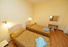 Спальня в номере 2-комнатный СТАНДАРТ в корпусе 6